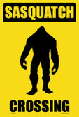 Sasquatch Crossing Wholesale Novelty Large Parking Sign LGP-1733