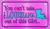 Louisiana Girl Wholesale Motorcycle License Plate MP-9809