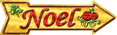Noel Wholesale Novelty Metal Arrow Sign A-375