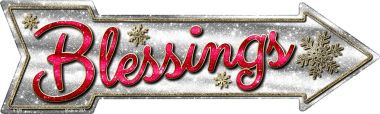 Blessings Wholesale Novelty Metal Arrow Sign A-376