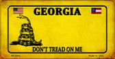 Georgia Do Not Tread Wholesale Novelty Bicycle Plate BP-8842