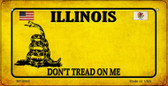 Illinois Do Not Tread Wholesale Novelty Bicycle Plate BP-8845