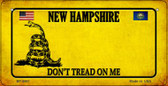 New Hampshire Do Not Tread Wholesale Novelty Bicycle Plate BP-8861