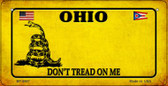 Ohio Do Not Tread Wholesale Novelty Bicycle Plate BP-8867