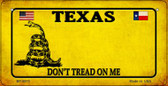Texas Do Not Tread Wholesale Novelty Bicycle Plate BP-8875