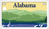 Alabama Blank Background Wholesale Novelty Motorcycle Plate MP-9502