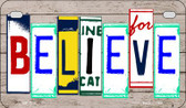 Believe Plate Art Wholesale Novelty Motorcycle Plate MP-7850