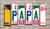 Papa Plate Art Wholesale Novelty Motorcycle Plate MP-7910
