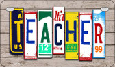 Teacher Plate Art Wholesale Novelty Motorcycle Plate MP-7941