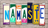 Namaste Plate Art Wholesale Novelty Motorcycle Plate MP-7944