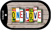 One Love Plate Art Wholesale Dog Tag Necklace DT-7913
