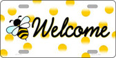 Welcome Bee Wholesale Novelty License Plate LP-11721
