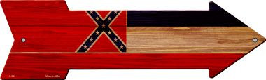 Mississippi State Flag Wholesale Novelty Arrows A-545