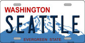 Seattle Washington Novelty Wholesale Metal Novelty License Plate LP-4205