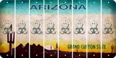Arizona BABY BOY Cut License Plate Strips (Set of 8) LPS-AZ1-066