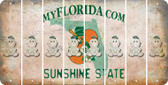 Florida BABY GIRL Cut License Plate Strips (Set of 8) LPS-FL1-067