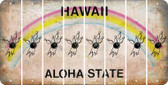 Hawaii BOWLING Cut License Plate Strips (Set of 8) LPS-HI1-059