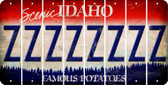 Idaho Z Cut License Plate Strips (Set of 8) LPS-ID1-026