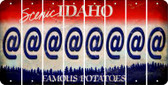Idaho ASPERAND Cut License Plate Strips (Set of 8) LPS-ID1-039