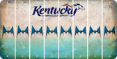 Kentucky BAT Cut License Plate Strips (Set of 8) LPS-KY1-074