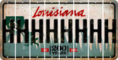 Louisiana H Cut License Plate Strips (Set of 8) LPS-LA1-008