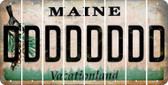 Maine D Cut License Plate Strips (Set of 8) LPS-ME1-004