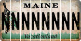 Maine N Cut License Plate Strips (Set of 8) LPS-ME1-014