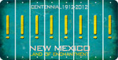 New Mexico EXCLAMATION POINT Cut License Plate Strips (Set of 8) LPS-NM1-041