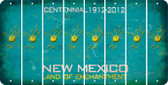 New Mexico BOWLING Cut License Plate Strips (Set of 8) LPS-NM1-059