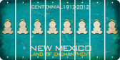 New Mexico BABY GIRL Cut License Plate Strips (Set of 8) LPS-NM1-067