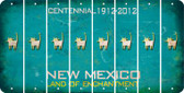 New Mexico CAT Cut License Plate Strips (Set of 8) LPS-NM1-072