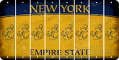 New York ANCHOR Cut License Plate Strips (Set of 8) LPS-NY1-093