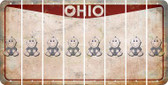 Ohio BABY BOY Cut License Plate Strips (Set of 8) LPS-OH1-066