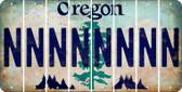 Oregon N Cut License Plate Strips (Set of 8) LPS-OR1-014