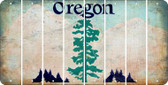 Oregon BLANK Cut License Plate Strips (Set of 8) LPS-OR1-037