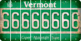 Vermont 6 Cut License Plate Strips (Set of 8) LPS-VT1-033