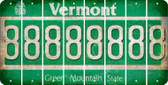 Vermont 8 Cut License Plate Strips (Set of 8) LPS-VT1-035