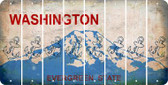 Washington ANCHOR Cut License Plate Strips (Set of 8) LPS-WA1-093