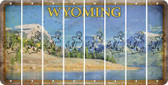 Wyoming ANCHOR Cut License Plate Strips (Set of 8) LPS-WY1-093