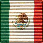 Mexico Flag Wholesale Novelty Square Sign SQ-411