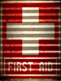First Aid Wholesale Novelty Parking Sign P-2315