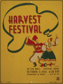 Harvest Festival Wholesale Parking Sign P-1818