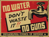 Dont Waste It Vintage Poster Wholesale Parking Sign P-1943