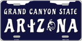 Arizona Grand Canyon State Wholesale Novelty License Plate LP-11792