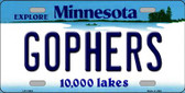 Gophers Minnesota State Novelty Wholesale License Plate LP-11053