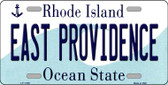 East Providence Rhode Island State License Plate Novelty Wholesale License Plate LP-11189