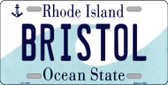 Bristol Rhode Island State License Plate Novelty Wholesale License Plate LP-11195