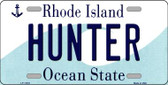 Hunter Rhode Island State License Plate Novelty Wholesale License Plate LP-11218
