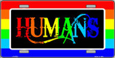 Humans Wholesale Metal Novelty License Plate LP-4722