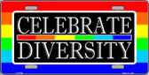 Celebrate Diversity Wholesale Metal Novelty License Plate LP-4734